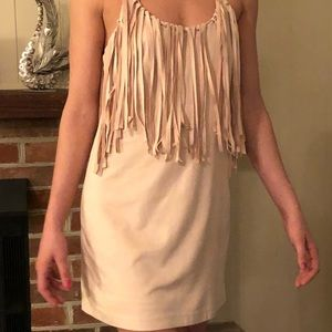 Dresses & Skirts - Fringed mini dress